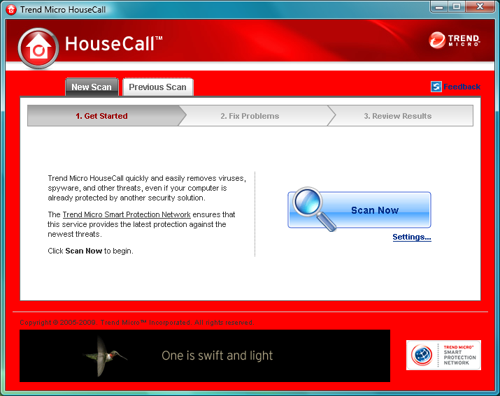 Trend Micro HouseCall 7.1