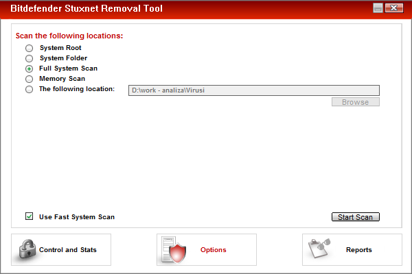 Stuxnet Removal Tool 1.0.0.1