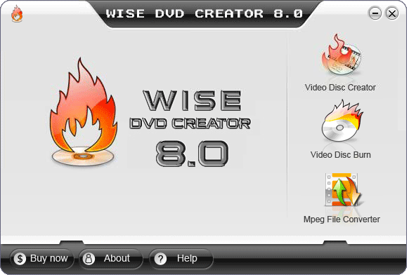 Wise DVD Creator 8.0.2005.1.24