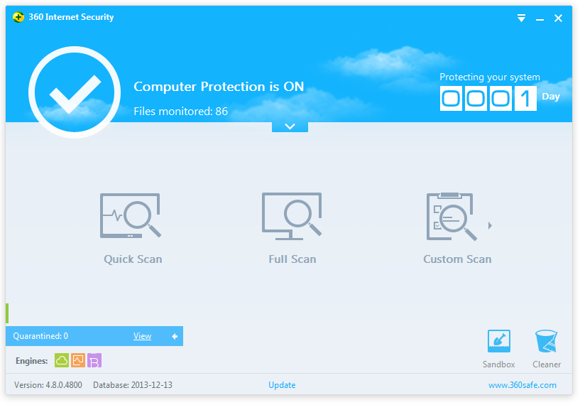 360 Internet Security 2014 4.8.0.4800